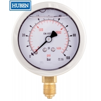 Cheap Glycerine filled Bourdon tube pressure gauges wholesale