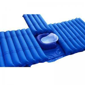 Cheap Patients Anti Decubitus Mattress , Strip Alternating Pressure Air Mattress with Big Pump wholesale