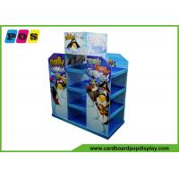 48x20 Inch Merchandising Cardboard Pallet Display Glossy Lamination For Games PA034