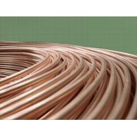 Buy cheap Smooth surface Single wall copper coated low carbon bundy pipe, flexible from wholesalers