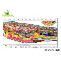 Cheap Anti - Crack Infant Indoor Playground , Soft Play Indoor Playground Family Fun For Kids wholesale