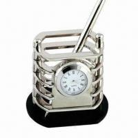 Cheap Metal Pen Holder, Harmless to People/Environment, Various Designs are Available wholesale