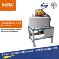 Cheap ISO Approved Waste Tire Recycling Dry Powder Magnetic Iron Separator Energy Saving. wholesale