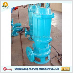 Cheap single channel impeller cast iron sewage water pumping machine wholesale