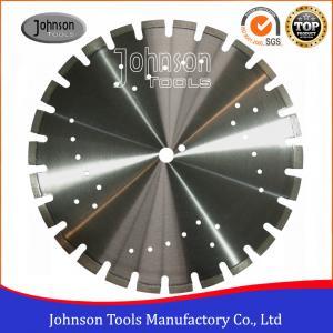 Cheap Standard 450mm Asphalt Cutting Blades Wide U Slots Laser Welded Diamond Saw Blades wholesale