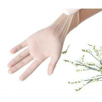 China Good Elastic Disposable Pvc Glove Comfortable Disposable Plastic Hand Gloves on sale