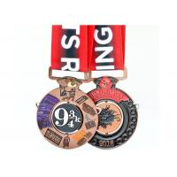 Cheap 2 Sides Enamel Color Filled Custom Sports Medals Miraculous Kettlebell Lifting Sport Type wholesale