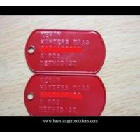Cheap Addding epoxy design dog tag metal , Make your own design metal tag wholesale