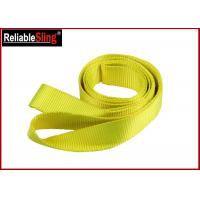 Buy cheap Polyester Loop Car Heavy Duty Recovery Tow / Towing Straps Single Ply from wholesalers