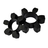 Cheap Industrial Custom Rubber Parts Elastic Ring Coupling ±5 Shore A Tolerance wholesale