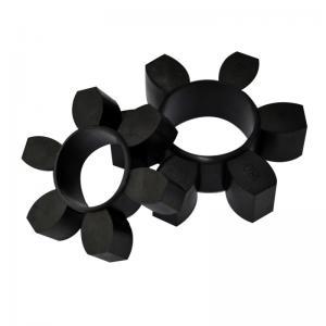 Cheap Industrial Custom Rubber Parts Elastic Ring Coupling ±5 Shore A Tolerance wholesale