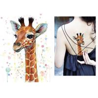 Cheap Body Art Fake Temporary Tattoo Sticker , Temporary Sleeve Tattoos For Adults wholesale