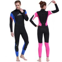 China Hot sale 3mm  neoprene wetsuit & one-piece neoprene  diving suit&super stretch men's sportswear on sale