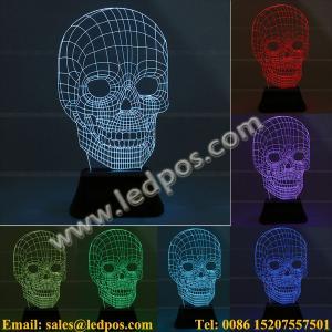 Cheap 3D Visual Acrylic LED Light for sale