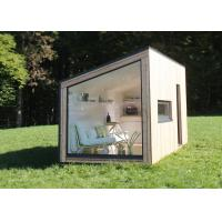 Buy cheap European standard prefab light steel back yard house garden studio resort from wholesalers