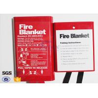 Cheap Flame Retardant Fabric Fiberglass Fire Blanket for Thermal Heat Protection wholesale