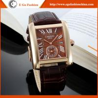 China 063A Hotsale Leather Watch Dress Watches Women Ladies Watch Stainless Steel Quartz Watches on sale