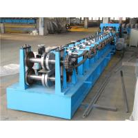 Cheap Automatic Z Purlin Roll Forming Machine , Durable Roll Former Machine Chain Drive wholesale