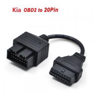 Cheap Kia 20Pin OBD1 to 16Pin OBD2 Cable for Kia 20PIN Kia Car Diagnostic Interface OBD2 Cable wholesale