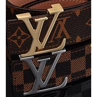 China LV leather belt on sale