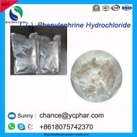 Cheap Pharmaceutical Raw Material Phenylephrine Hydrochloride for The Treatment of Shock CAS 61-76-7 wholesale