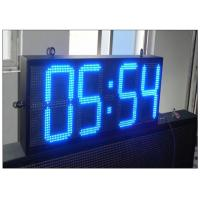 Cheap 12 Inches Time / Temperature / Date Electronic LED Display Boards GPS Waterproof wholesale