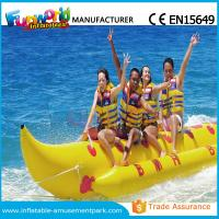 Cheap Banana Boat Inflatable Water Toys / Water Towable Tube with Customized Size wholesale