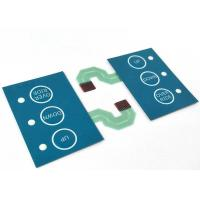 Cheap ZIF Connector Water resistant Capacitive Touch Switch Lens Panel 0.2mm+ Thickness wholesale