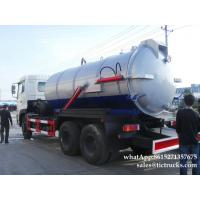 Cheap vacuum tanker truck-16000L- Cesspool Emptying Truck EURO 4/5 App:8615271357675 wholesale