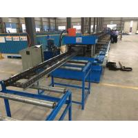 China Steel Channel Ladder Cable Tray Making Cold Roll Forming Machine 10 - 12 m / min on sale