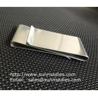 Cheap Dual Stainless Steel Money Clips for men, double sided steel money clips, wholesale
