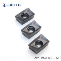 Cemented Carbide Milling Inserts With Strong Edge For General Material APKT1003PDTR