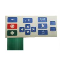 Cheap Pillow Embossing Membrane Switch High Performance Fast Response Capability wholesale