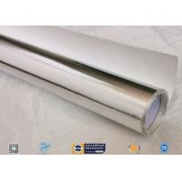 Cheap 0.018 Inch Waterproof Aluminium Foil Fiberglass Fabric Flexible Hose Heat Shield wholesale