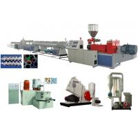 Cheap UPVC Rigid Solid Pipe Extrusion Line wholesale