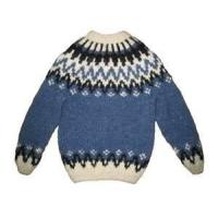 Cheap Blue Lovely 100% Cotton Warm Knitting Patterns Kids Sweaters, Baby Girl Cardigan Sweater wholesale