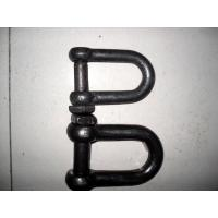 Cheap Durable Rigging Hardware Trawling Chain Shackle With Square Head Screw Pin wholesale
