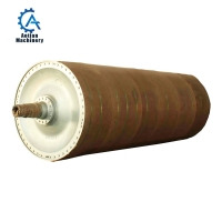 Cheap Mills Spare Parts Rotary Dryer Cylinder Cast Iron Paper Machine Dryer Section Dryer Cylinder wholesale