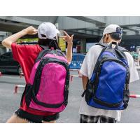 Cheap Personality large capacity student backpack fashion zipper computer pocket backpack soft geometric pattern backpack wholesale