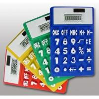 Cheap Various colors foldable silicone calculator wholesale