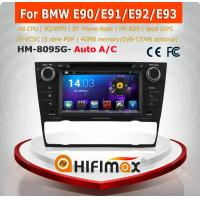 China HIFIMAX Android 4.4 car dvd player for BMW 3 Series WITH Capacitive screen 1080P 8G ROM WIFI 3G INTERNET DVR SUPPORT on sale