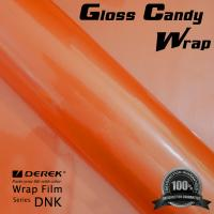 Gloss Candy Focus Orange Vinyl Wrap Film - Gloss Focus Orange