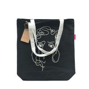 Cheap Handed Long Handle Plain Canvas Tote BagsFor College Heavy Duty Medium Size wholesale