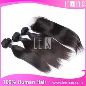 Wholesale high quality natural straight virgin malaysian human hair