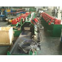 High Speed Fly Cutting Purlin Roll Forming Machine With Two Sides Gear Box Driving