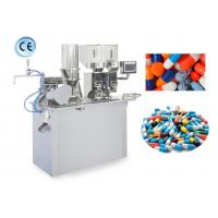 Cheap Semi Automatic Capsule Filler , Capsule Making Machine With High Speed wholesale
