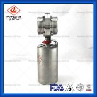 Cheap AISI 304 Sanitary Stainless Steel  Automatic Pneumatic Butterfly Valve  2 Inch wholesale