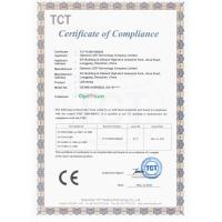 Optosun LED Technology Company Limited Certifications