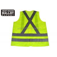 Cheap Custom Reflective Safety Vest Clothing Yellow Green Safety Vest With Car Reflective Tape wholesale