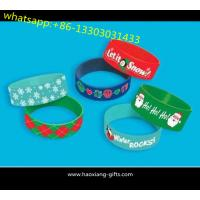 Cheap factory custom made high quality promotional gifts silicone wristband/bracelet wholesale